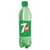 7 Up , Lemon , 0,5l € 1,50,-