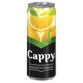 Cappy , Orange 0,33l € 1,20,-